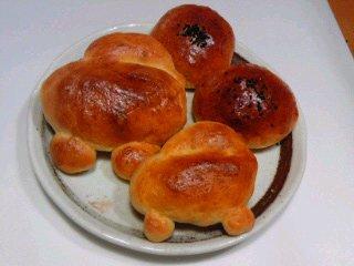 初パン焼き